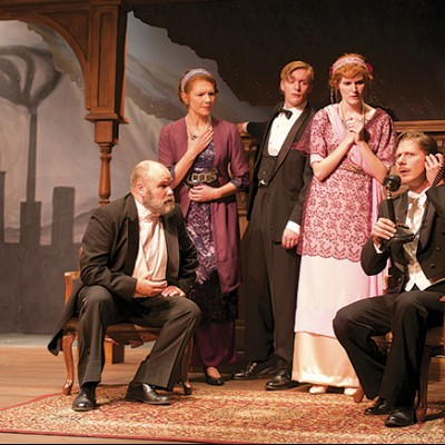An Inspector Calls now playing at Rosebud Theatre