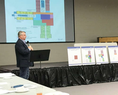 Campus of Caring plans presented in Trochu