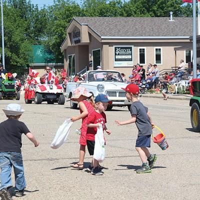 Trochu celebrates Canada Day in style