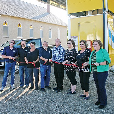 Ribbon cutting ceremony held for AFD Petroleum Fuel Station in Carbon