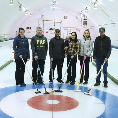 Rupert/Hyshka win Carbon Doubles Bonspiel