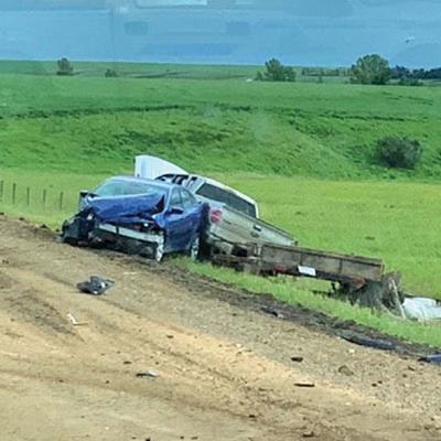 No major injuries in two-vehicle crash