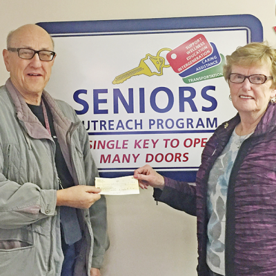 Seniors Outreach needs your support