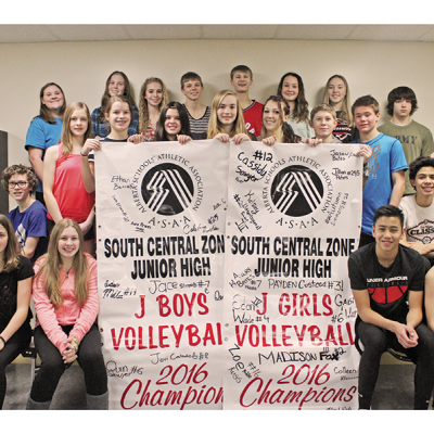 Dr. Elliott School celebrates volleyball season to remember