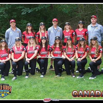 Elnora Eagles represent Canada at Junior League World Series