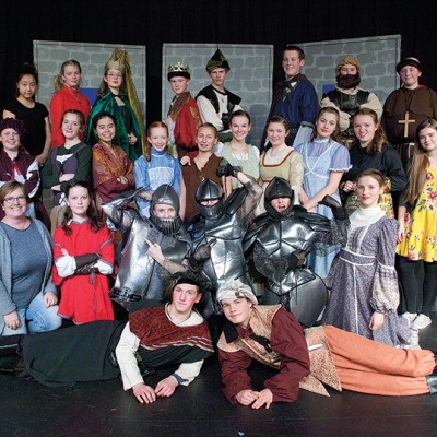 """PCA Jr. High presents """"Robin Hood and the Merry Men of Sherwood Forest"""""""