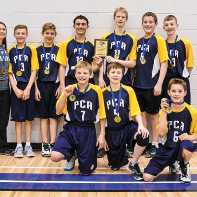 PCA Jr. A Boys bring home Gold