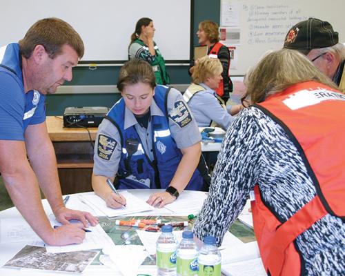 KREMA hosts Emergency Management Exercise