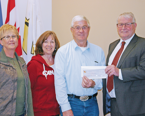 Huxley project receives $125,000
