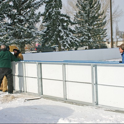 Ag Society nears completion on Rink Project