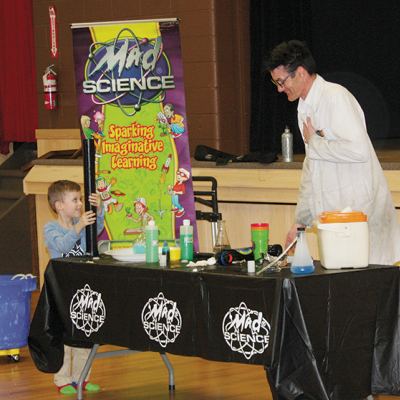 Mad Science Calgary comes to Three Hills