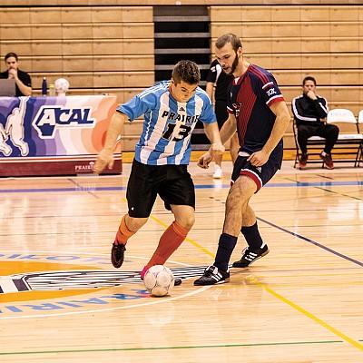 Pilots Futsal teams take on Voyageurs