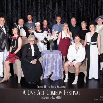 """Three Hills Arts Academy presents a """"One Act Comedy Festival"""""""