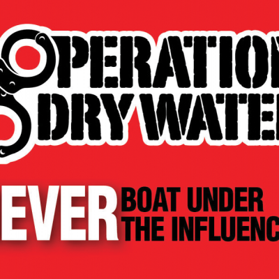 """Operation Dry Water"" reminds you to boat sober this long weekend"