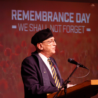 Community Remembrance Day Service held in Three Hills