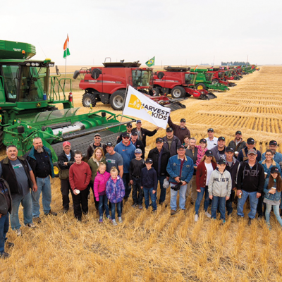 Harvest for Kids Fundraiser a great success