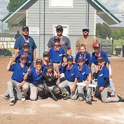 Three Hills Royals Pee Wee Baseball bring home gold