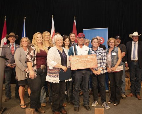 Tainsh Family receives 2019 BMO Farm Family Award