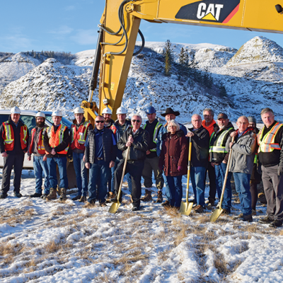 Ground-breaking held for Water Treatment Plant Upgrades
