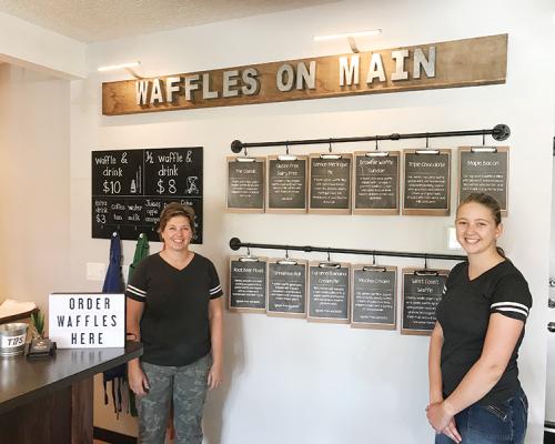 Waffles on Main serving the community a fresh, new idea