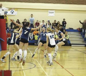 THS hosts ASAA 2A Girls Provincial Volleyball