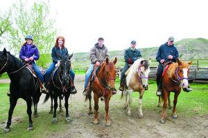 Students offered Credited Equine Class