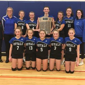 Three Hills Royals Jr. A Girls claim League Championship